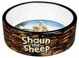 Shaun the Sheep Keramische voer/waterbak bruin 0.3 ltr / 12 cm + GRATIS PLACEMAT_10