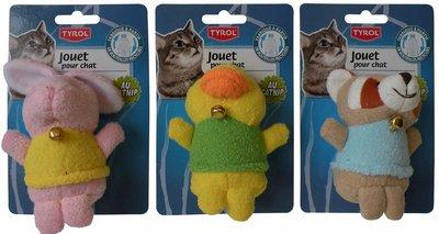 Tyrol Kattenspeelgoed met bel en catnip