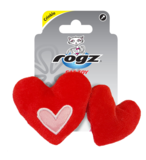 Rogz Catnip Plush Hearts Red_9