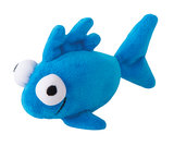 Rogz Catnip Plush Fish Blue_9