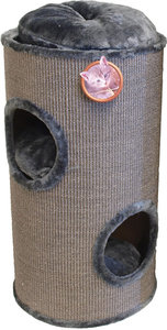 Klimton / Krabton Sisal 2-Gaats Grijs/Grijs 75 cm