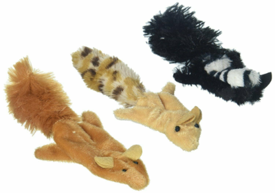 Skinneeezz Forest Animals met Catnip