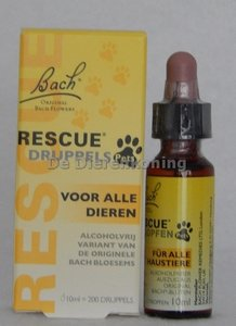Bach Rescue Pet druppels (10 ml)