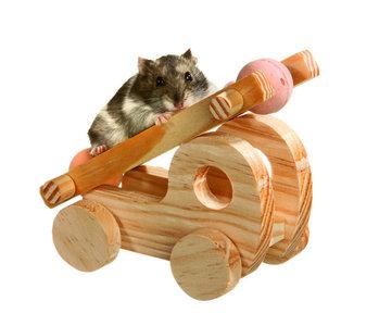 Wonderland Brain Train Fire truck voor hamsters