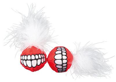Rogz Catnip Grinz Ball Red