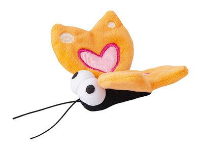 Rogz Catnip Plush Butterfly Orange