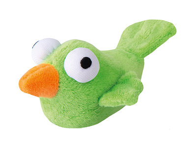 Rogz Catnip Plush Bird Lime