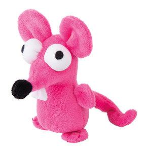 Rogz Catnip Plush Mouse Pink