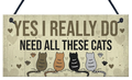 Houten-bord-Yes-I-really-do-need-all-these-cats