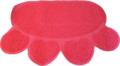 Boon-Kattenbakmat-Poot-Roze-60-x-45-cm